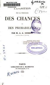 Exposition de la théorie des chances et des probabilités