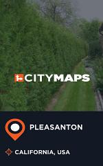 City Maps Pleasanton California, USA