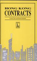 Hong Kong Contracts PDF