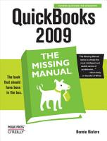 QuickBooks 2009  The Missing Manual PDF