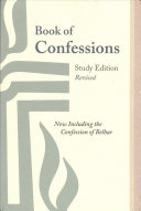 Book of Confessions  Study Edition  Revised Book