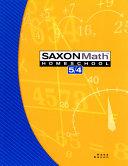 Saxon Math 5 4 PDF