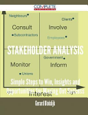 Stakeholder Analysis - Simple Steps to Win, Insights and Opportunities for Maxing Out Success