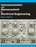 Instrumentation and Measurement in Electrical Engineering PDF