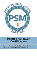 PSM R  1 Full Exam Certification PDF