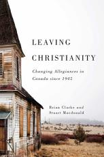 Leaving Christianity