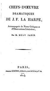 Lycée, ou, Cours de littérature ancienne et moderne: Volume17