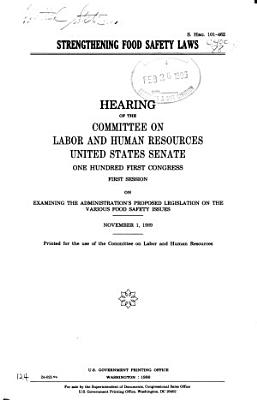 Strengthening Food Safety Laws PDF