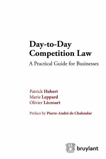 Day to Day Competition Law PDF