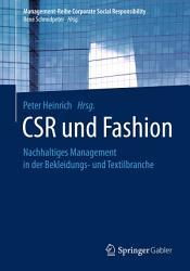 CSR und Fashion PDF