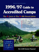 Guide to Accredited Camps, 1996-1997