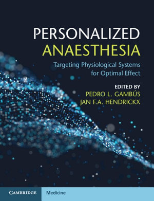 Personalized Anaesthesia