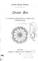 Doctor Ben PDF