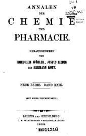 Annalen der Chemie und Pharmacie: Bände 29-30;Bände 105-106