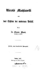 Niccolò Machiavelli und das System der modernen Politik