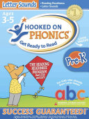 Hooked On Phonics Get Ready To Read Letter Sounds Book PDF