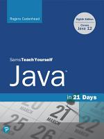 Sams Teach Yourself Java in 21 Days  Covers Java 11 12  PDF