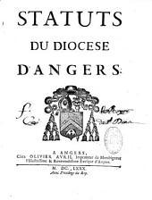 Statuts du diocèse d'Angers, recueillis par l'ordre de Henry Arnauld, Evêque d'Angers