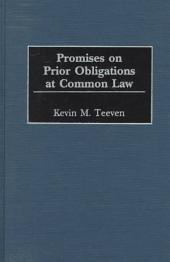 Promises on Prior Obligations at Common Law