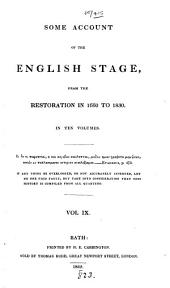 some account of the statge from 1660 yo 1890