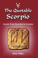 The Quotable Scorpio PDF