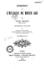 Entretiens sur l'histoire du Moyen-Age