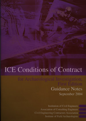 ICE Conditions of Contract for Archaeological Investigation PDF