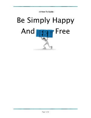 Eliminate Debt   Simply Living Debt Free