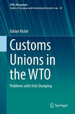Customs Unions in the WTO