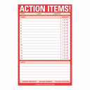 Action Items Pad Book
