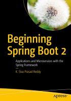 Beginning Spring Boot 2 PDF