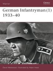 German Infantryman (1) 1933–40