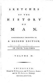 Sketches of the History of Man ...: In Four Volumes ...