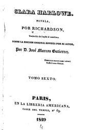 Clara Harlowe: novela, Volumen 6
