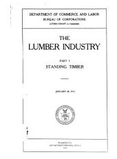 The Lumber Industry ...