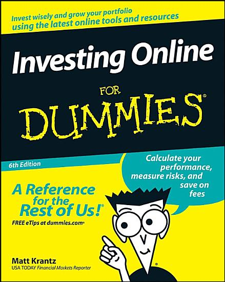 Investing Online For Dummies PDF