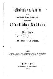 Über Uhland's Ernst von Schwaben