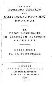 Ex Procli Scholiis in Cratylum Platonis Excerpta