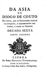 Da Asia de João de Barros e de Diogo de Couto: Volume 15