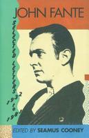 John Fante Selected Letters 1932 1981 PDF