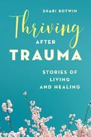 Thriving After Trauma PDF