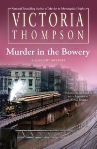 Murder in the Bowery Book