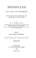 The Plays and Fragments PDF