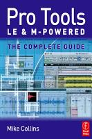 Pro Tools LE and M Powered PDF