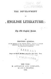 The Development of English Literature: The Old English Period