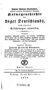 Naturgeschichte der Vogel Deutschlands