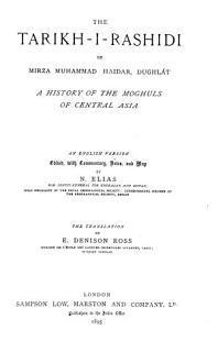The Tarikh i Rashidi of Mirza Muhammad Haidar Book