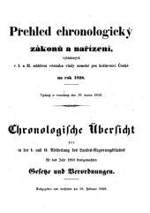 Landes-Gesetz- und Regierungs-Blatt für das Kronland Böhmen: Díl 2