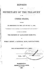 Annual Report of the Secretary of the Treasury on the State of the Finances, with Appendices