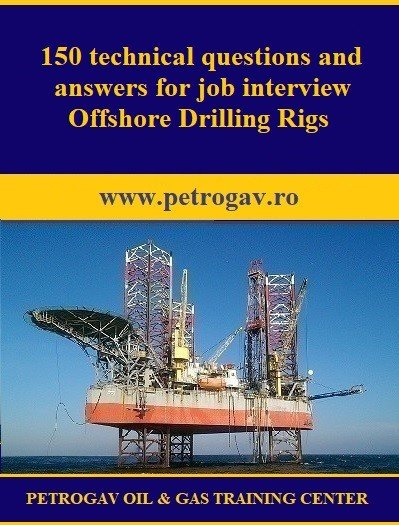150 technical questions and answers for job interview Offshore Drilling Rigs PDF
